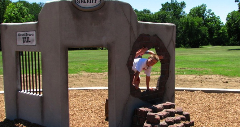 Jail Break at Fish Creek Park in Grand Prairie TX - slideshow version