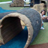 Kids at the Hollow Log Crawl - thumbnail