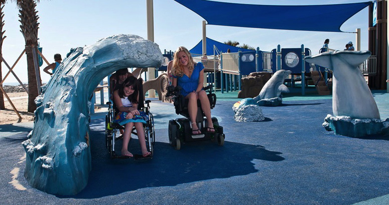 Riding the Waves at JT's Grommet Island Beach Park - slideshow version