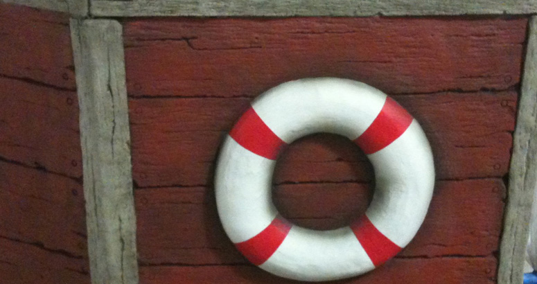 Life Ring at the Universally Accessible Tug Boat Park - slideshow version