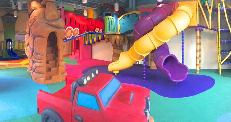 The REC indoor play environment