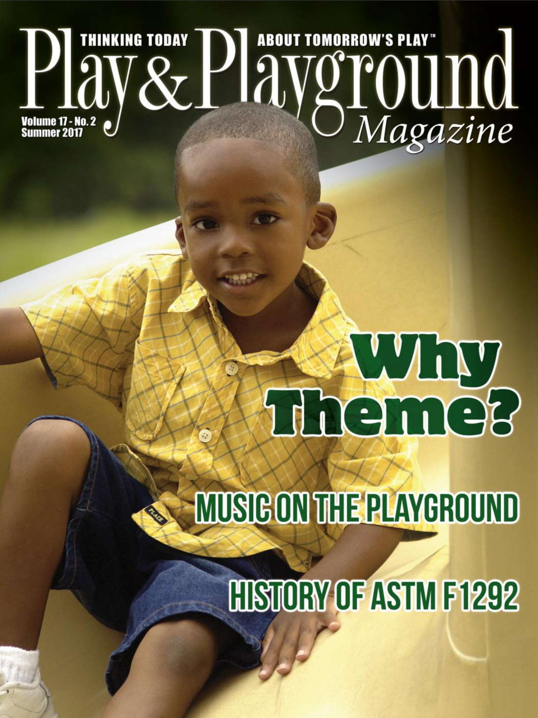 Why Theme: Play & Playground Magazine Cover