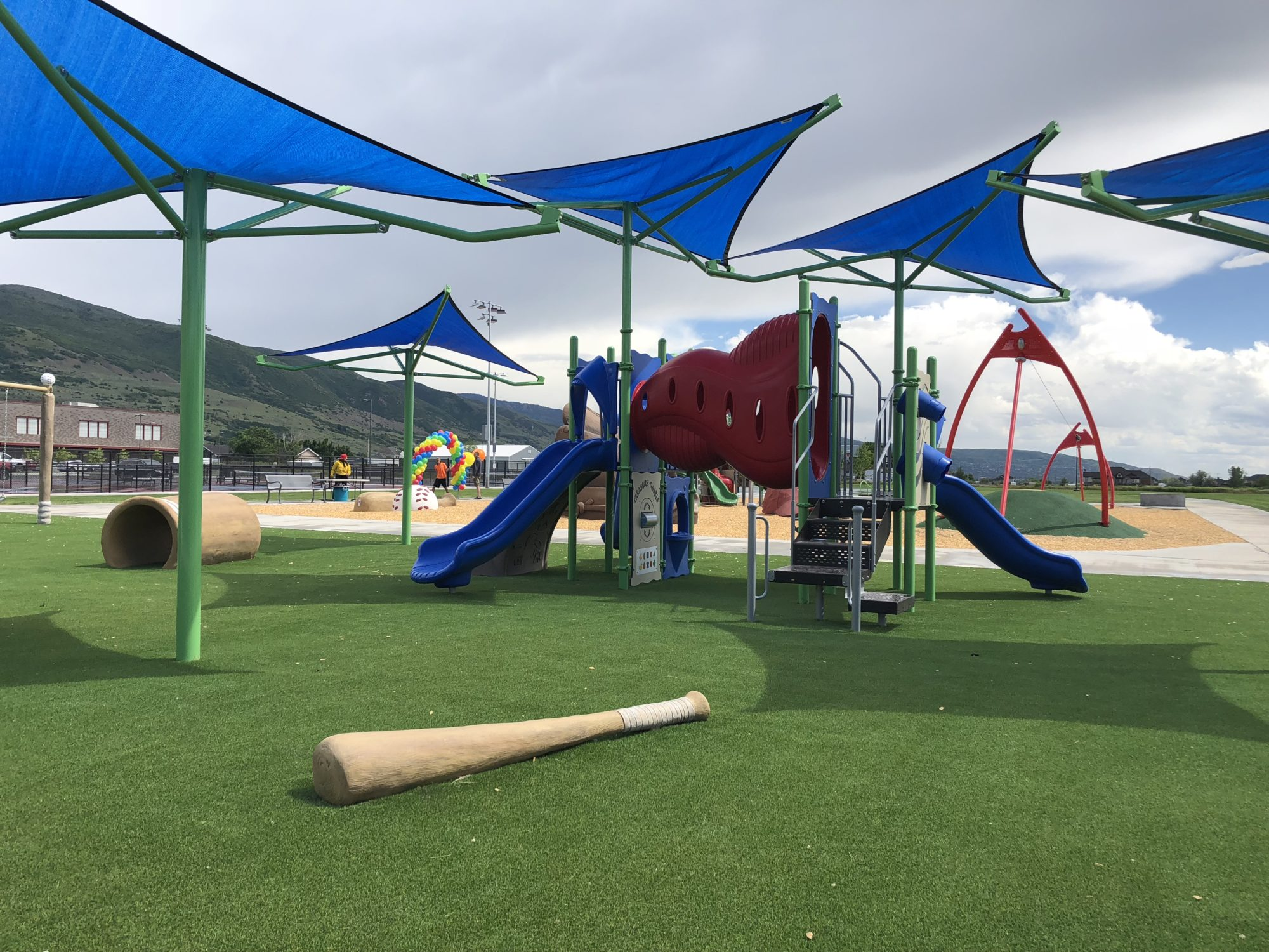 Sports Themed Playground