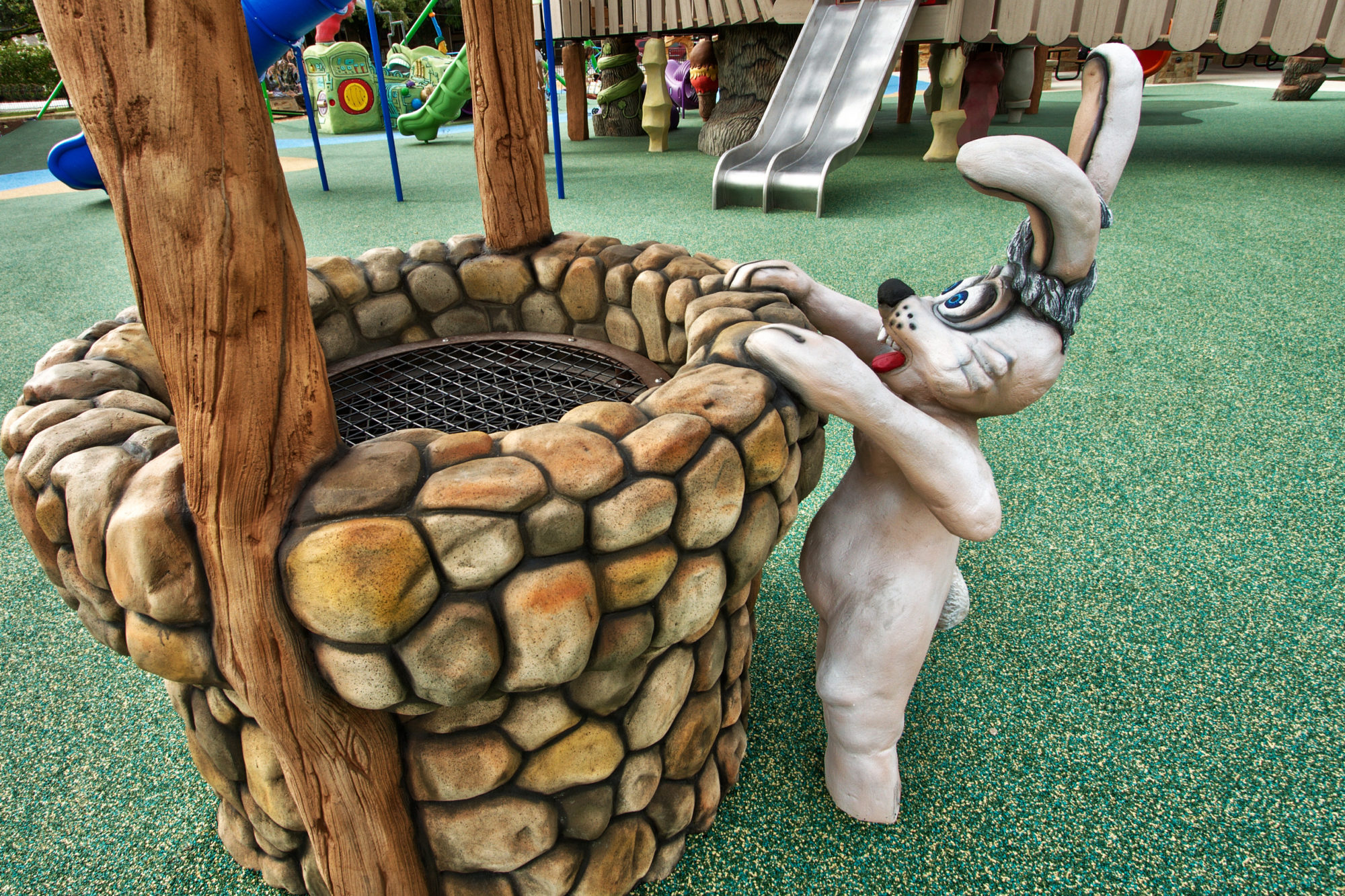 Animal themed playground