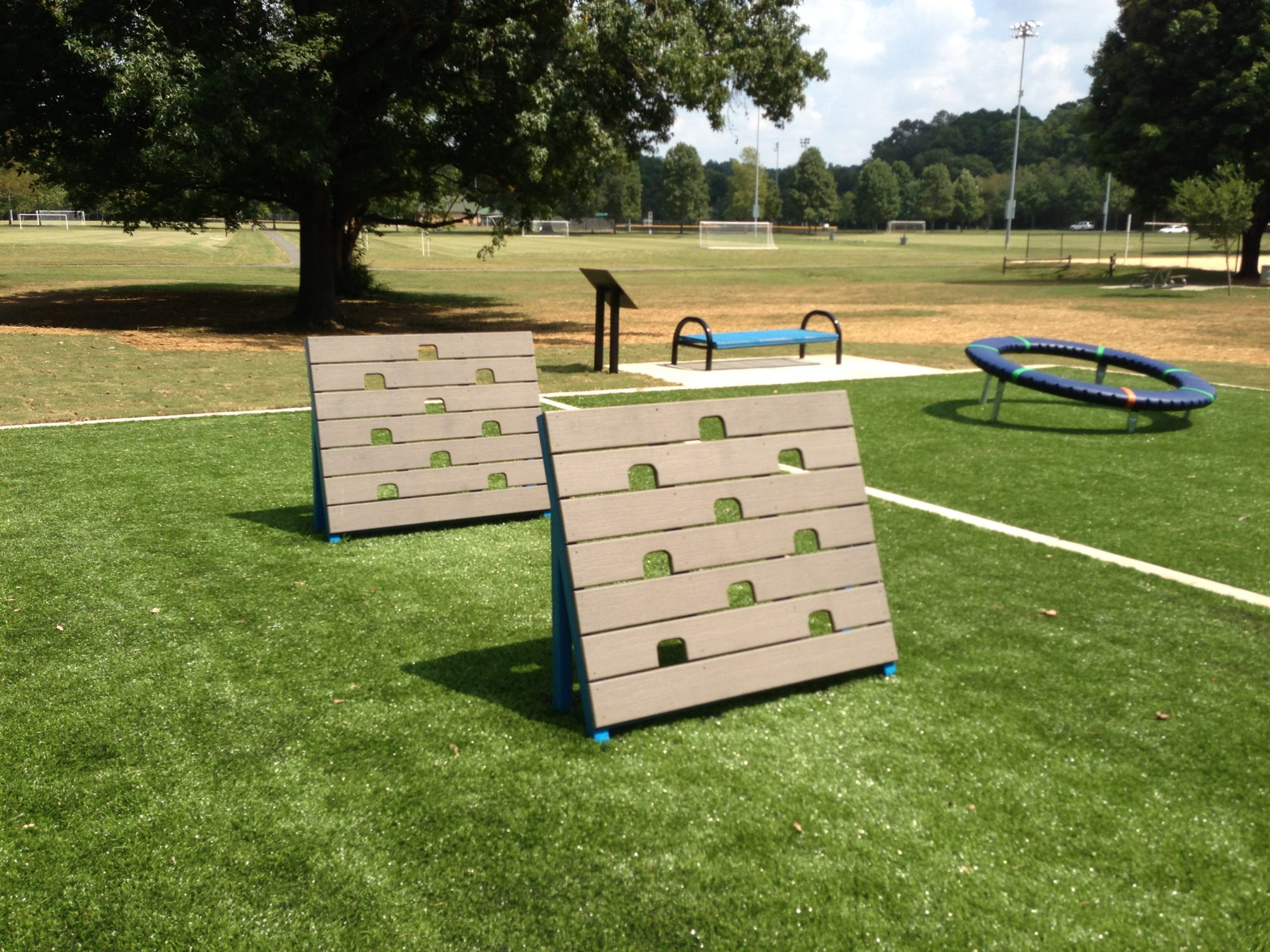 NFL themed playground