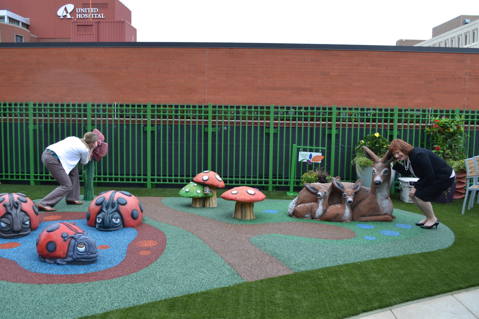 Children's Hospital St. Paul Playground